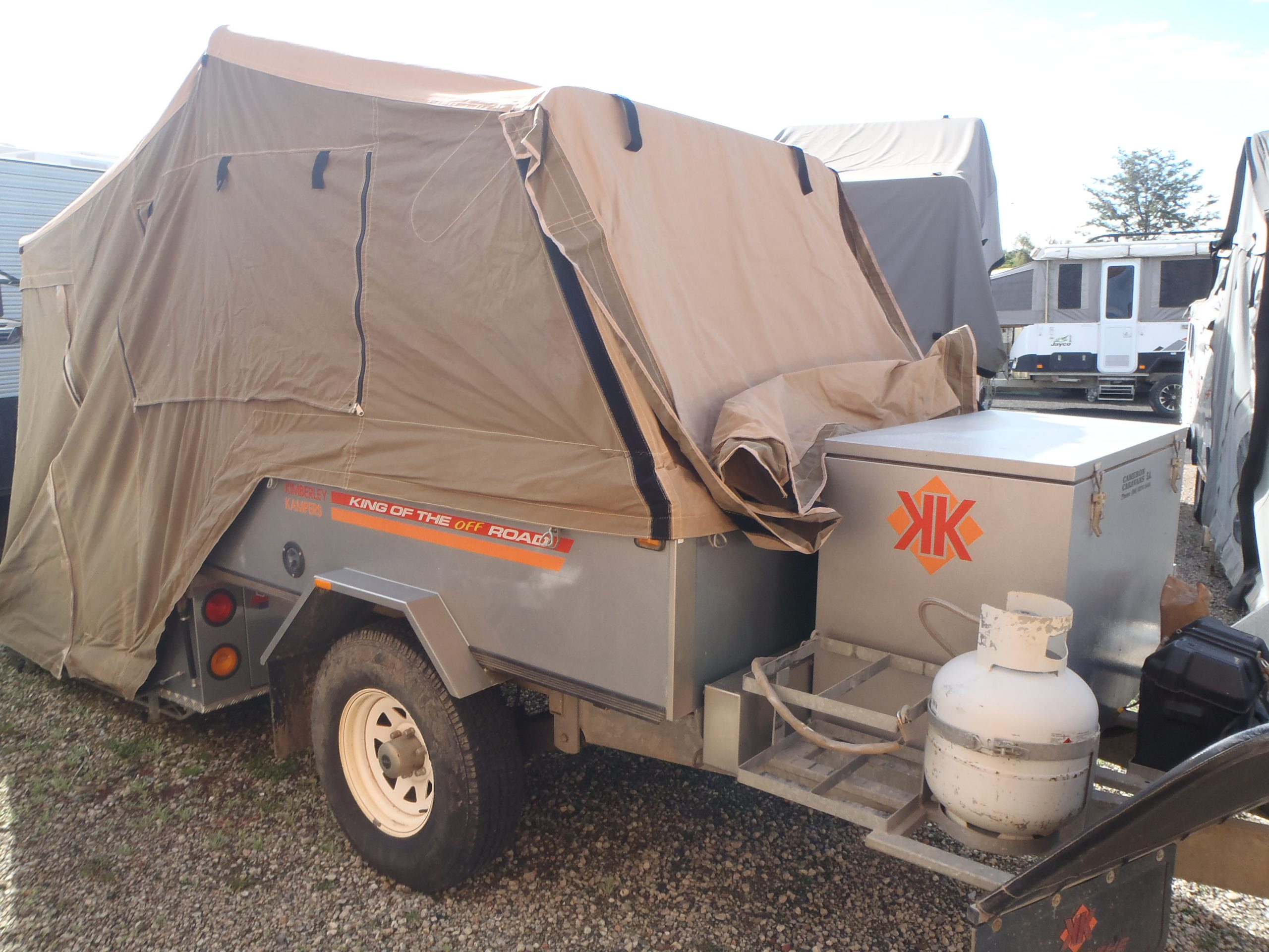 2003 Kimberly Kamper Kakadu for sale in Windsor, NSW. SN 3029