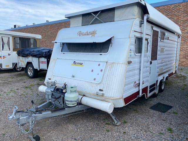 1997 Roadstar Voyager 2000 Pop Top Shower Toilet for sale in Windsor, NSW