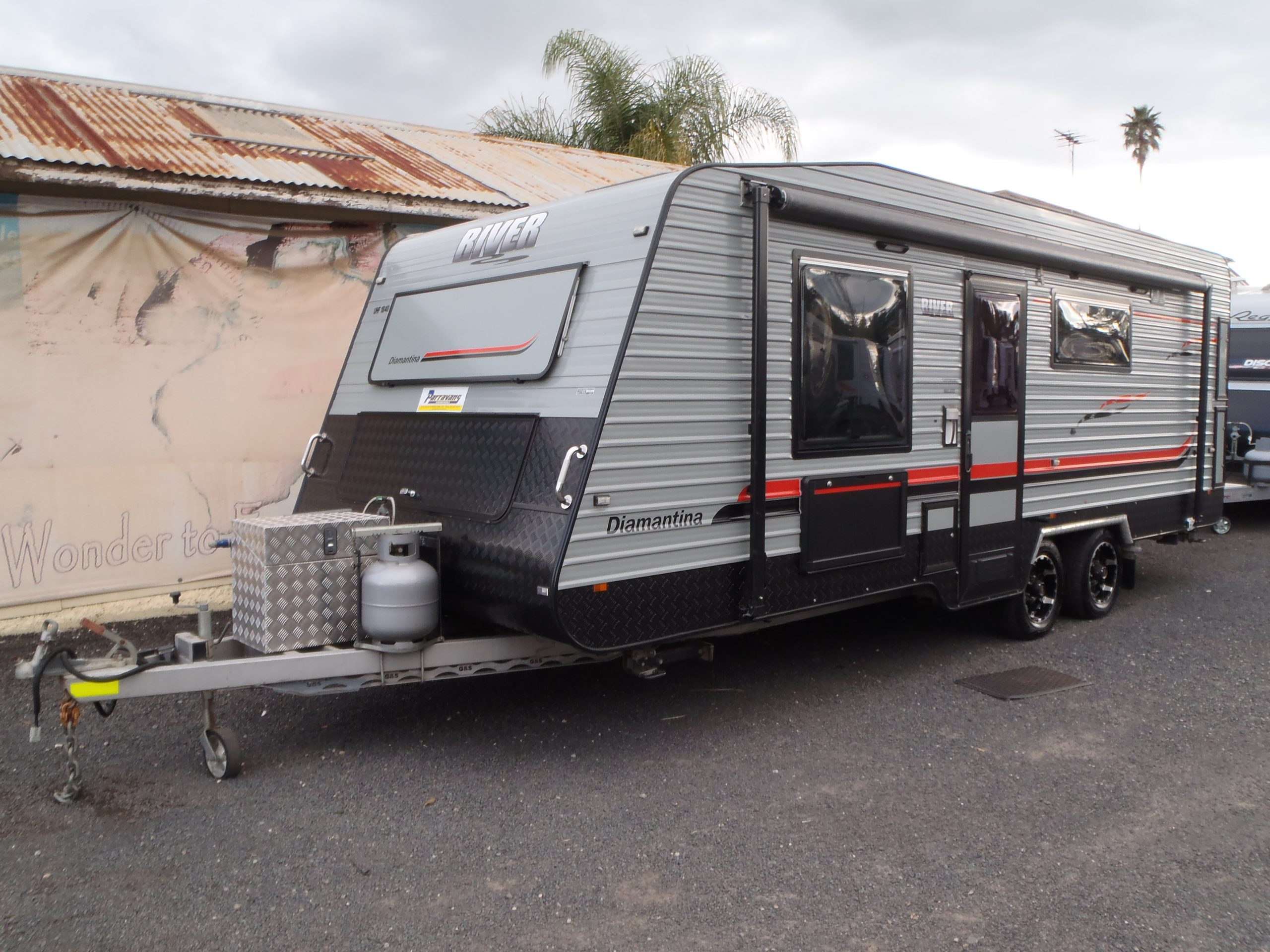 2014 RIVER Diamantina 20' for sale in Windsor, NSW (SN 3036)