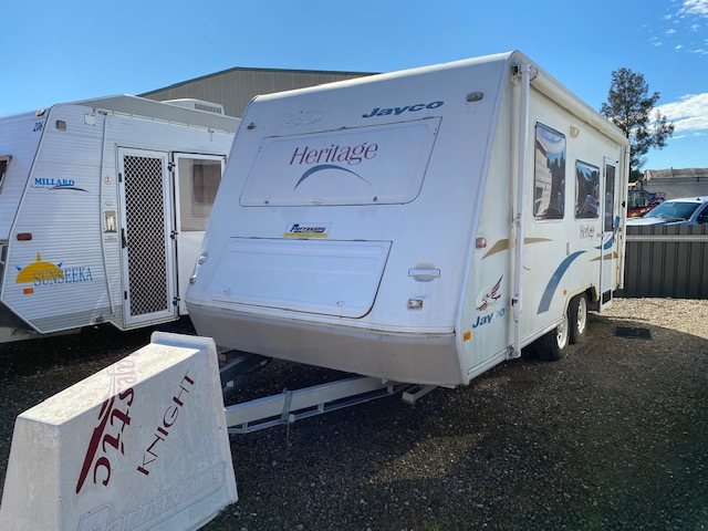 Jayco Heritage 18'6 for sale in Windsor, NSW (SN 3042)