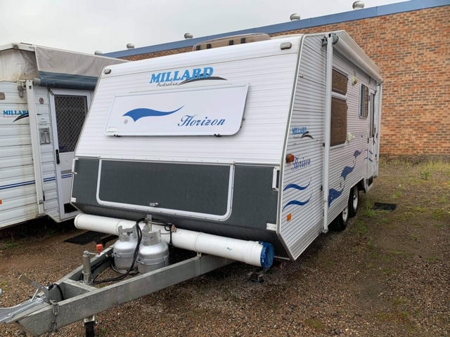 Millard Horizon 18'6 for sale in Windsor, NSW (SN 3044)
