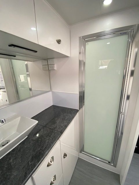 small caravans with shower and toilet